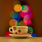Happy Holidays Greeting Card by John Velocci
