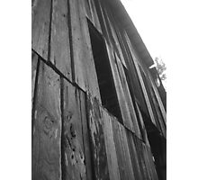 A Weathered Facade Photographic Print