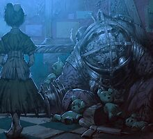 Bioshock: Mr. Bubbles by mariafumada