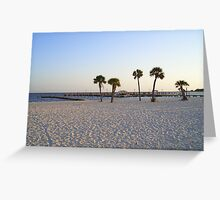 Biloxi Palms Greeting Card