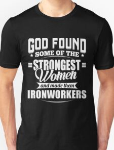 Strongest Ironworkers T-shirt T-Shirt