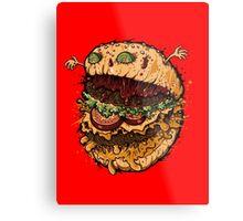 Monster Burger Metal Print