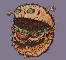Monster Burger Kids Tee