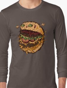 Monster Burger Long Sleeve T-Shirt