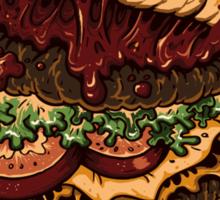 Monster Burger Sticker
