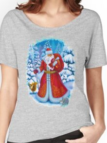Merry Christmas with Love from Russia Women's Relaxed Fit T-Shirt