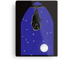 Bat in the Window Metal Print