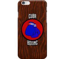 Cuba Boxing  iPhone Case/Skin