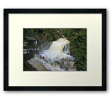 Misty spring falls, Victoria Park, Truro, NS Framed Print