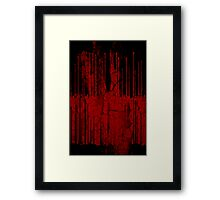 Violent Fluids Framed Print