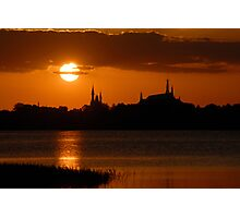 """Majic Kingdom Sunset"" Photographic Print"