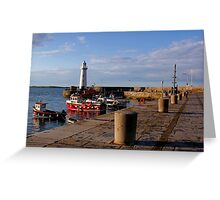Donaghadee Sundown Greeting Card