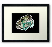 Wolf Tears Framed Print