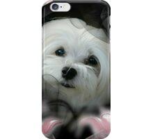 Snowdrop the Maltese  iPhone Case/Skin