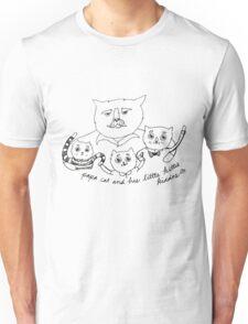 Papa Cat Unisex T-Shirt