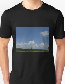 HDR Composite - Working Farm Landscape and Sky Unisex T-Shirt