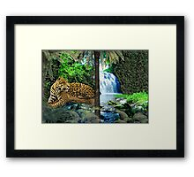 NA768-Illusive Amazon Majesty Framed Print