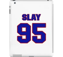National football player Henry Slay jersey 95 iPad Case/Skin