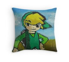 Oily Link Throw Pillow