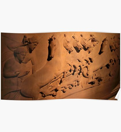 Lycian Sarcophagus - 5th BCE - Istanbul Archaeology Museum Poster