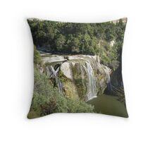 Waihi Falls Wairarapa NZ Throw Pillow