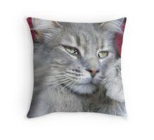 CAT Glamour Throw Pillow