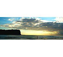 Lonely- Mona vale Beach, Sydney Australia Photographic Print