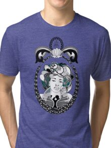 PaisleyAfroChic Tri-blend T-Shirt