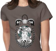 PaisleyAfroChic Womens Fitted T-Shirt