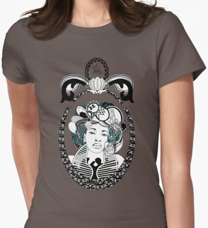 PaisleyAfroChic Womens Fitted T-Shirt