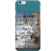 BOOKS ARE MAGIC iPhone Case/Skin