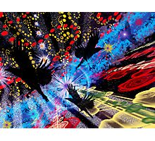 Crow Dreaming Photographic Print