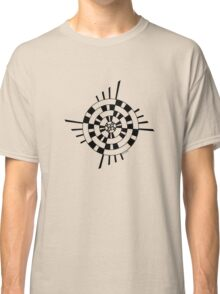 Mandala 1 Back In Black Classic T-Shirt