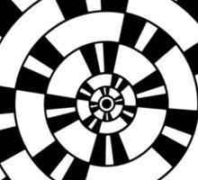 Mandala 1 Back In Black Sticker