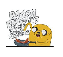 Bacon Pancakes by MikeJustGaming