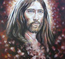 Mystical Jesus by Tahnja