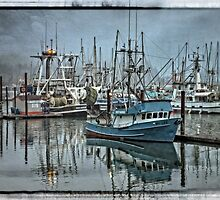 My Lee - Yaquina Bay by Thom Zehrfeld