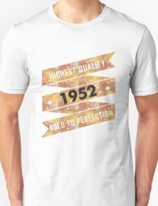 Highest Quality 1952 Aged To Perfection T-Shirt