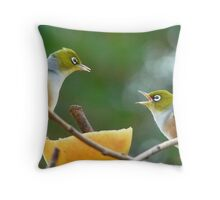 If Bob Told You To Jump Off A Cliff.. Would YOU!! - Silver-Eyes - NZ Throw Pillow