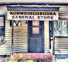 Korweinguboora General Store by sally williams
