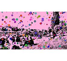 Bubble people Photographic Print