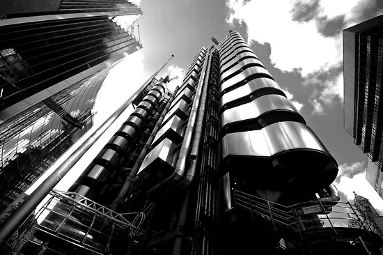 Lloyds Building, London by berndt2