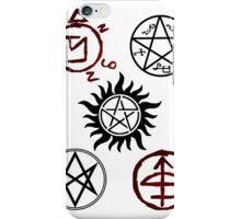 Supernatural Sigil Pattern iPhone Case/Skin