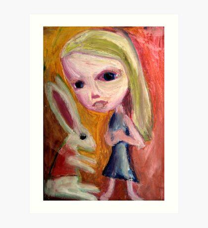 Alice Begins Art Print