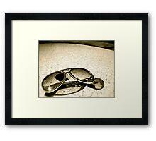 Replica Elvis Reflectors Framed Print