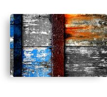Banded Canvas Print