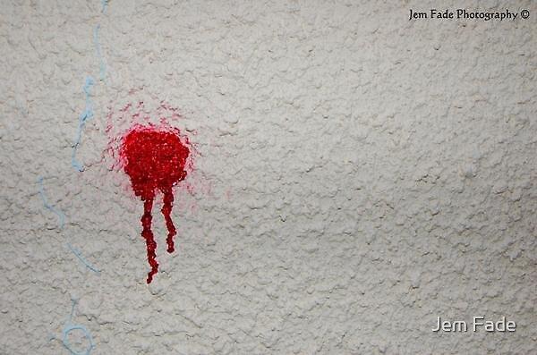 Graffiti Bullet by Jem Fade