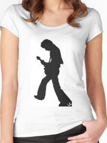 Brian May Women's Fitted Scoop T-Shirt