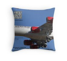 Latest Mag Cover Design Throw Pillow