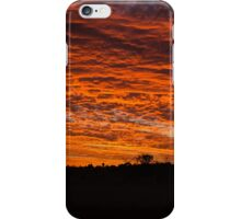 Windmill sunset iPhone Case/Skin